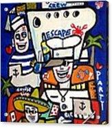 Crew Escape Cruise . Acrylic Print