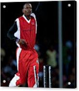 Cricket - Stanford Super Series - Stanford Superstars V Trinidad & Tobago -  Stanford Cricket Ground Acrylic Print