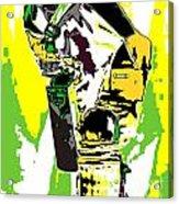 Cricketer Acrylic Print