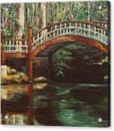 Crim Dell Bridge - College Of William And Mary Acrylic Print