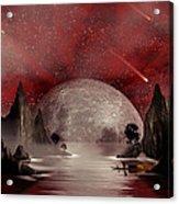 Crimson Night Acrylic Print by Anthony Citro