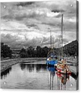 Crinan Canal Scotland Acrylic Print