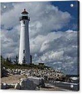 Crisp Point Lighthouse 16 Acrylic Print