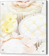 Criss-cross Cupcake Acrylic Print