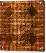 Criss-cross Acrylic Print
