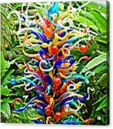 Cristal Garden Acrylic Print