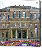 Croatian Academy Of Sciences And Arts  Acrylic Print by Borislav Marinic