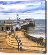 Cromer Pier Norfolk Acrylic Print