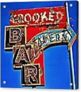 Crooked Bar And Tavern Acrylic Print