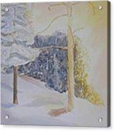 Crooked Creek Morning Light Acrylic Print