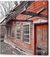Crooked House Acrylic Print by Sharon Costa