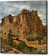 Crooked River Bend Acrylic Print