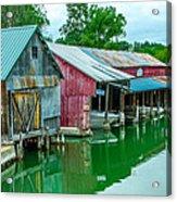 Crooked River Marina Acrylic Print
