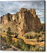 Crooked River Towers Acrylic Print