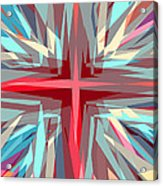 Cross Burst Acrylic Print