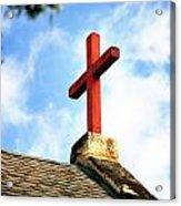 Cross Church Roof Acrylic Print