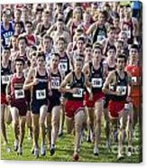 Cross County Race Acrylic Print
