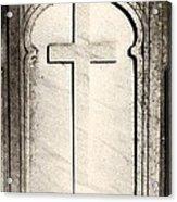 Cross Monument Acrylic Print