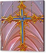 Cross Of Church Of Our Lady Acrylic Print