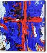 Cross Of The Patriot Acrylic Print