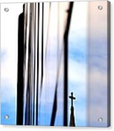 Cross Spire 5077 Acrylic Print