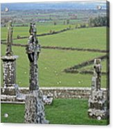 Crosses Of Cashel Acrylic Print