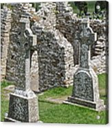 Crosses Of Clonmacnoise Acrylic Print