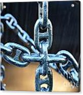 Crossing Chains Acrylic Print