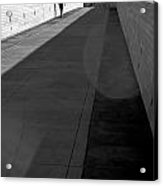 Crossing The Bridge Acrylic Print