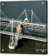 Crossing The Thames Acrylic Print