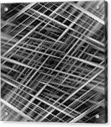 Mono Lines 3 Acrylic Print