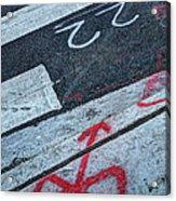 Crosswalk Acrylic Print by Jim Wright