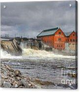 Croton Dam Acrylic Print