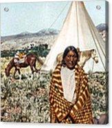 Crow Indian 1902 Acrylic Print