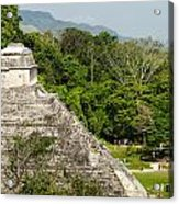 Crowd At Palenque Acrylic Print