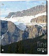 Crowfoot Glacier Acrylic Print