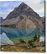 Crowfoot Mountain Banff Np Acrylic Print