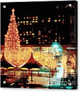 Crown Center Christmas - Kansas City-1 Acrylic Print
