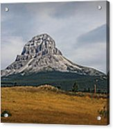 Crowsnest Mountain Acrylic Print