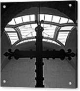 Crucifix And Skylight Acrylic Print