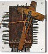 Crucifix Box Acrylic Print