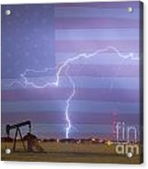 Crude Oil And Natural Gas Striking Across America Acrylic Print by James BO  Insogna