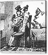Cruikshank: Headache, 1819 Acrylic Print
