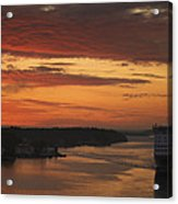 Cruise Ship In Sweden Mg_3860 Acrylic Print