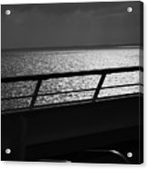 Cruisin In Black And White Acrylic Print