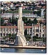 Cruising Along To Lisbon Acrylic Print