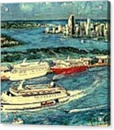 Cruising Miami Acrylic Print