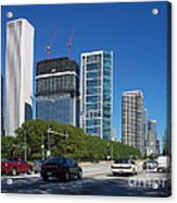 Cruising North On Lake Shore Drive In Chicago Acrylic Print