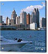 Cruising Past Detroit Acrylic Print