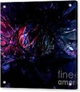 Crushed Abstract Acrylic Print
